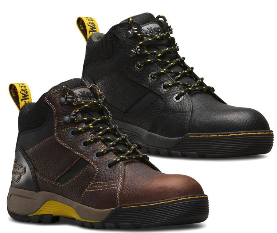 dr martin steel toe shoes