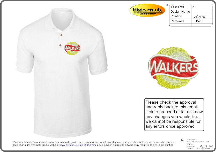 Express your delivery of printed hi vis or embroidered polo shirts