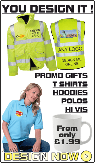 Create your own printed hi vis design
