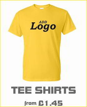 Custom Printed Tee shirts with logo