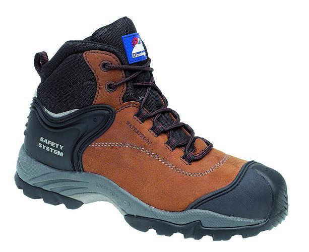 Brown Nubuck Waterproof Boot Metal Free, HIMALAYAN-4104,