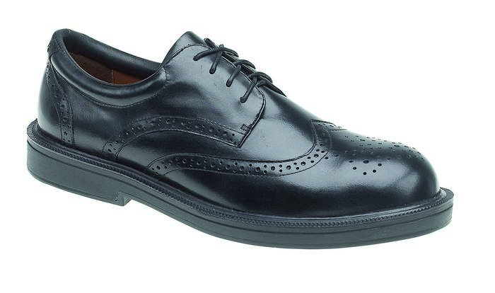 Metal Free Brogue Safety Shoe , HIMALAYAN-9810,