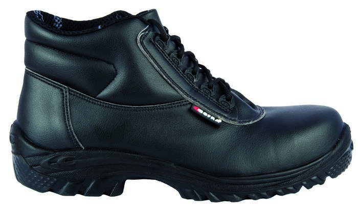 Black Lorica Safety Boot with Midsole, TOESAVERS-9404,