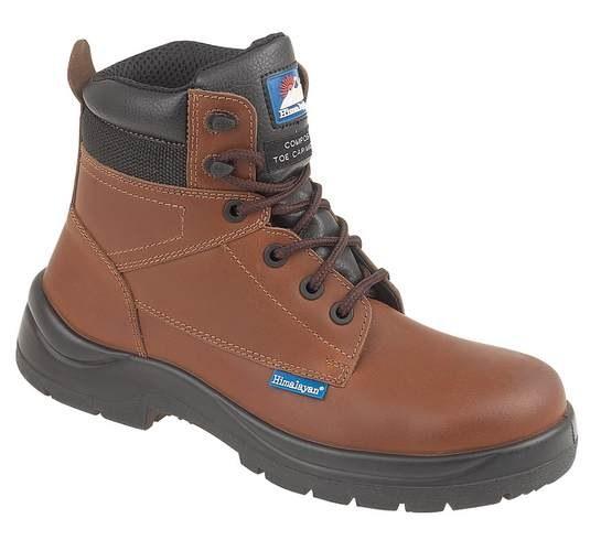 Brown HyGrip Metal Free Safety Boot, HIMALAYAN-5119,