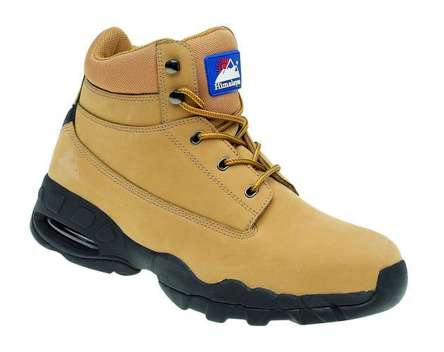 Wheat Nubuck Safety Boot, HIMALAYAN-4050,