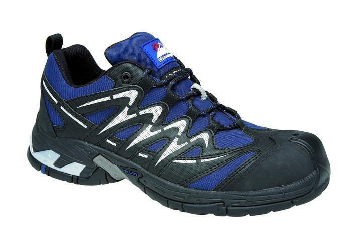 Navy Gravity Sport Trainer Metal Free Cap and Midsole, HIMALAYAN-4036,