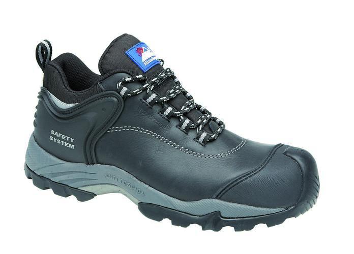 Black Waxy Waterproof Shoe Metal Free, HIMALAYAN-4108,