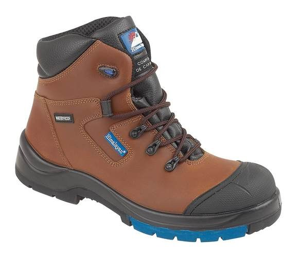 "Brown HyGrip ""Waterproof"" Metal Free Safety Boot , HIMALAYAN-5161,"