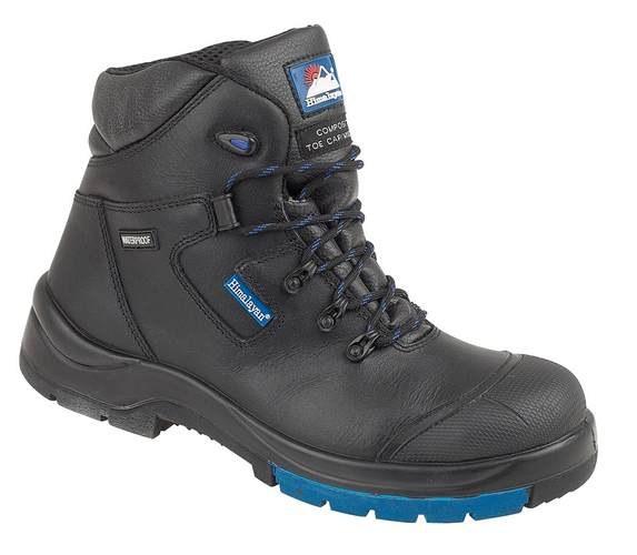 "Black HyGrip ""Waterproof"" Metal Free Safety Boot , HIMALAYAN-5160,"