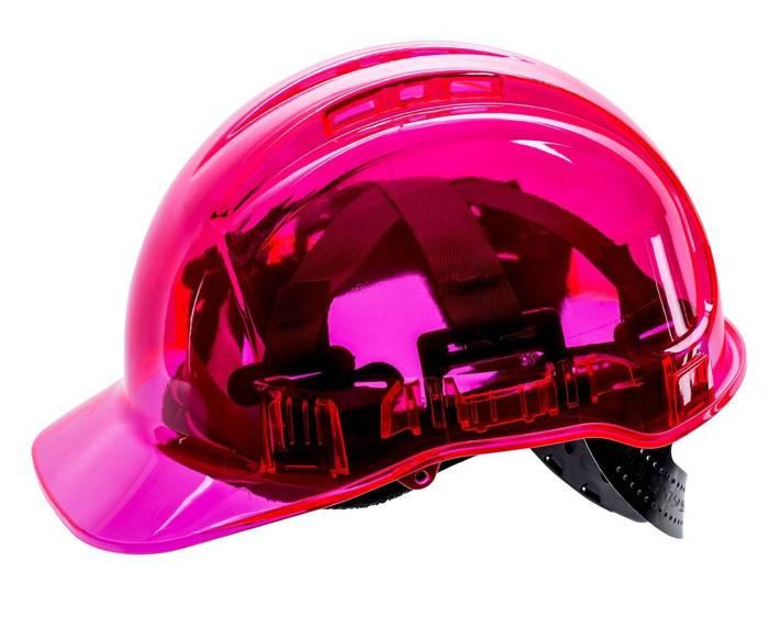 Transparent Safety Helmet See Through Pv50