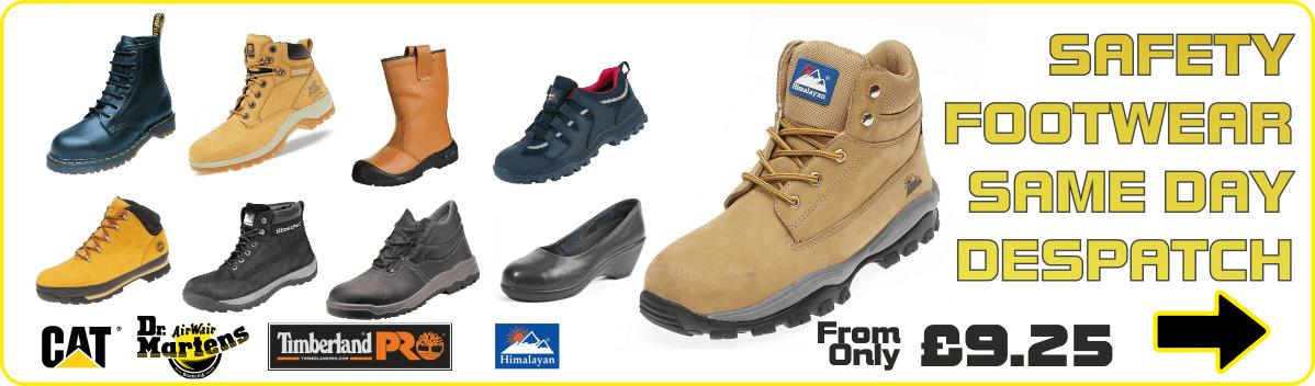 safety boots next day delivery