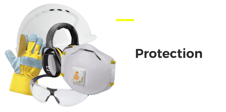 Protective wear masks helmets and gloves