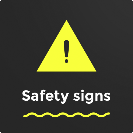 Buy Safety Signs at hivis