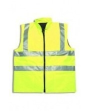 Yellow Hi Vis Bodywarmer