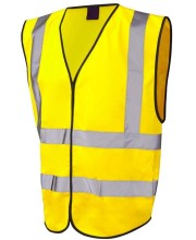 Sleeveless hi vis vests