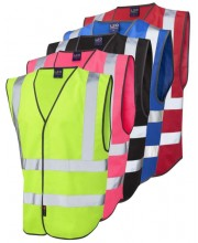 Leo Coloured Hi Vis Vests W05