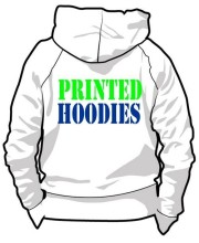 Custom Printed hoodies