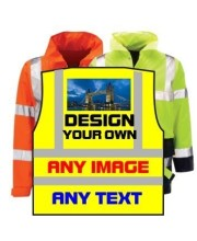 Custom Printed Hi Vis Clothing