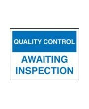 Quality Control Signs