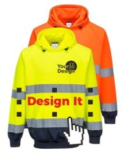 Personalised HI Vis Hoodies