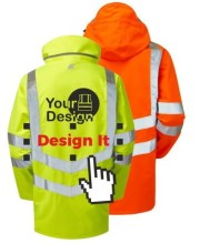 Personalised Hi Vis Coats