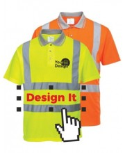 Personalised Hi Vis Polo Shirts