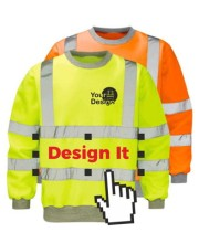 Personalised Hi Vis Sweatshirts