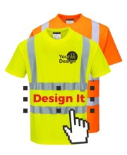 Personalised Hi Vis Tee Shirts