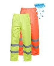 Waterproof Hi Vis Overtrousers