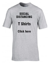 Social Distancing Tee Shirts
