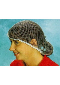 Hairnet std disposable WHITE x 100 DH