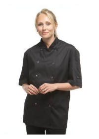 Dennys Chef Jacket DD08CSs Short Sleeve