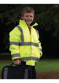 Kids-childrens Hi Vis bomber Jacket