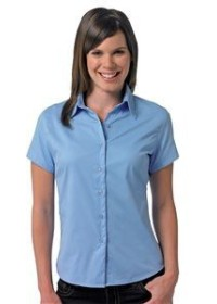 Russell  J917F,Women's short sleeve  twill shirt