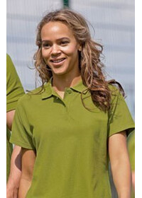 Jerzees Colours J577F,Women's Ultimate  Cotton Polo