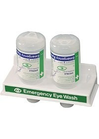Eye Wash Economy Station with 2 Eye Wash Bottles E410