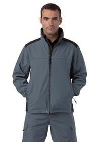 J018m Jerzees softsheel workwear jacket
