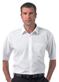 Russell J937M,Short sleeve 100% cotton poplin shirt