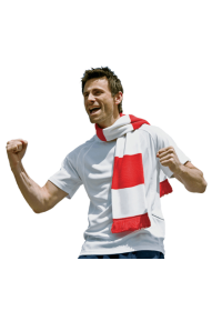 Football or Rugby Supporters scarf