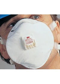 3M 8835 Soft Seal Dust/Mist/Metal Fume Respirator Pack 5