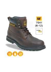CATERPILLAR 7041 Holton Brown Leather Safety Boot
