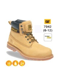 CATERPILLAR 7042 Holton Honey Nubuck Leather Safety Boot