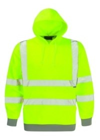 Dickies SA22090 Hi Vis Hooded Sweatshirt