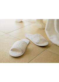 Towel City TC064 Classic Terry slippers (open toe)
