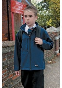 Result R121J Kid's Classic Softshell 3 layer jacket