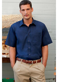 Fruit of the Loom SS116 Poplin short sleeve shirt
