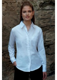Fruit of the Loom SS012 Ladyfit poplin  shirt