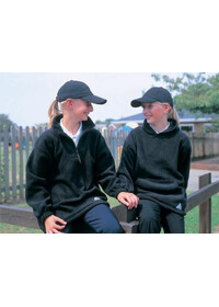 Result RE33J Kid's active fleece top 1/4 zip unlined