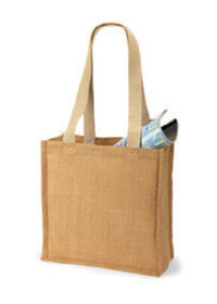 Westford Mill WM406 Jute Compact Tote