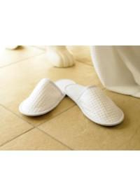 Towel City TC066 Waffle Mule Slippers